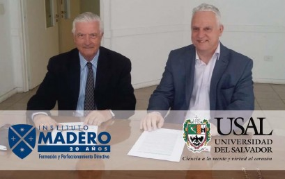 Convenio entre Universidad del Salvador e Instituto Madero